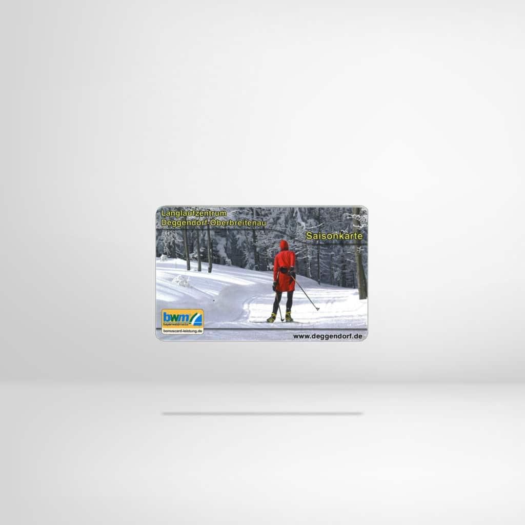 Loipen Saisonkarte aus dem Regionalshop Deggendorf