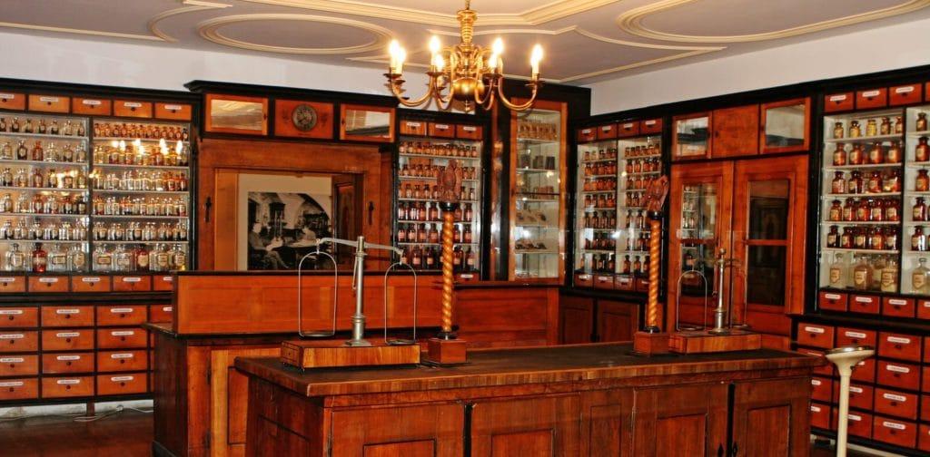 Historische Apotheke im Stadtmuseum Deggendorf