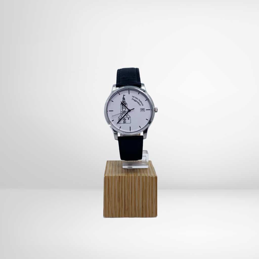 Deggendorfer Uhr silber