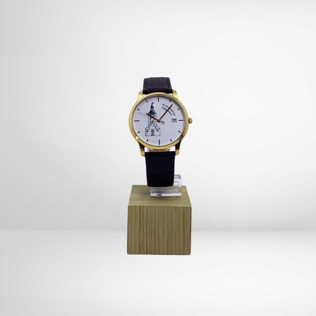 Deggendorfer Uhr gold