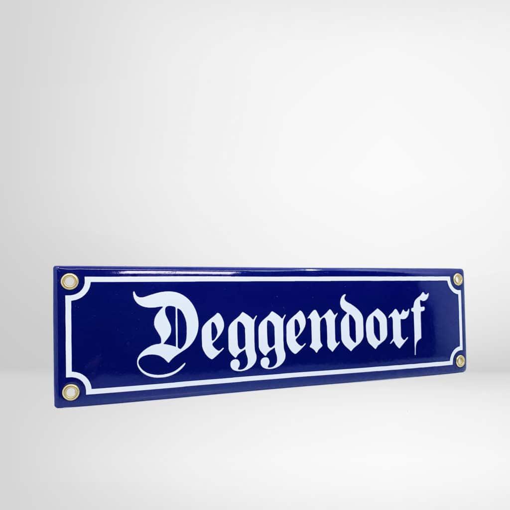 Deggendorf Schild