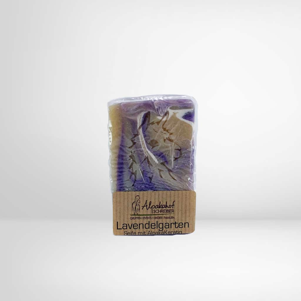 Seife Lavendelgarten