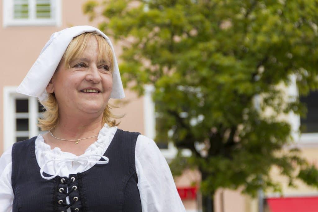 Die Knödelwerferin - eine Legende der Stadt Deggendorf