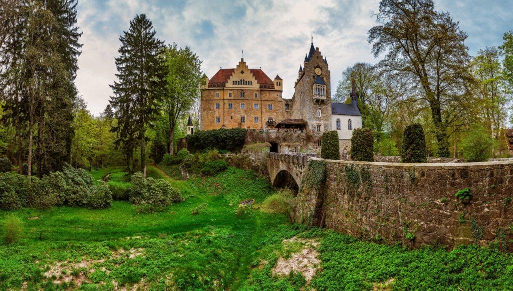 Schloss Egg in der Nähe von Deggendorf